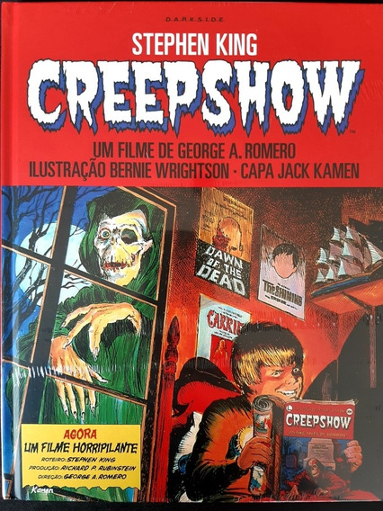 Hq Creepshow Stephen King Capa Dura Mxthq