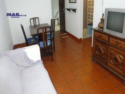 Imagem 1 de 6 de Apartamento Residencial À Venda, Centro, Guarujá - . - Ap9270