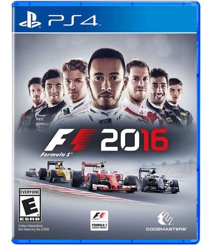 Formula 1 2016 F1 - Ps4 Fisico Nuevo Y Sellado