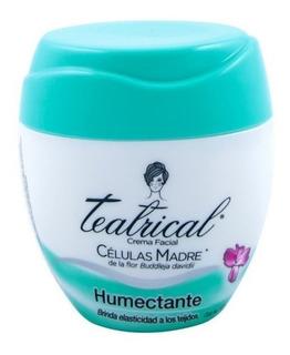Crema Facial Humectante Teatrical Con Células Madres 100 Gr
