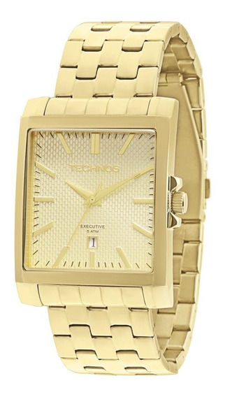 Relógio Feminino 2115koz/4x 36mm Aço Dourado