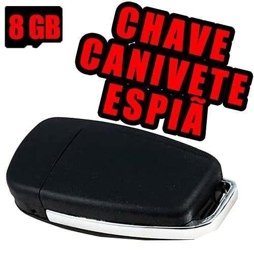 Chaveiro Camera Fotografica Micro Camara Material De 8gb