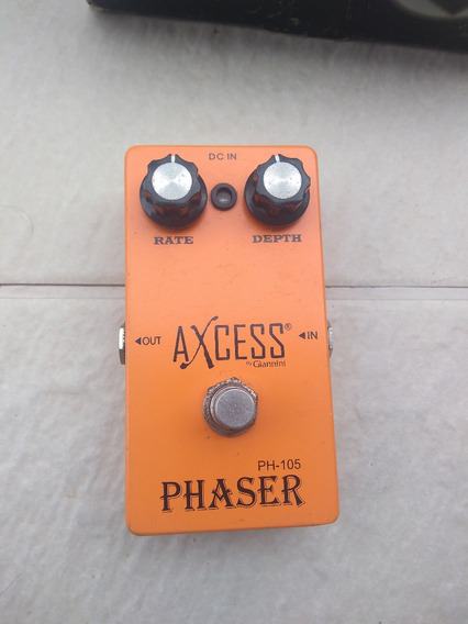 Pedal Axcess Phaser Ph105 By Giannini