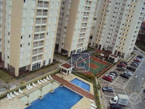 Apartamento Com 3 Dormitórios À Venda, 92 M² Por R$ 499.000,00 - Jardim Henriqueta - Taboão Da Serra/sp - Ap0824