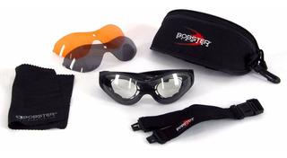 Goggles Bobster Para Lentes De Aumento Tres Micas