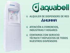 Alquiler Dispenser Frío Calor Para Red Agua Potable Aquabell