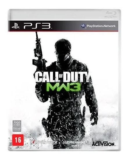 Jogo Ps3 Call Of Duty: Modern Warfare 3 - Novo - Original