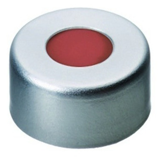 Tapa De Aluminio Con Septa P/viales 11mm Agilent X 500 Unid