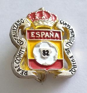 Pin Real Comité Organizador Copa Mundial De Fútbol 82