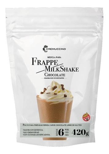 Frappe Milkshake Polvo Chocolate 420gr Cremuccino