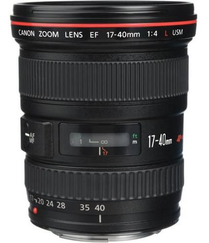 Lente Canon Ef 17-40mm F/4l Usm .