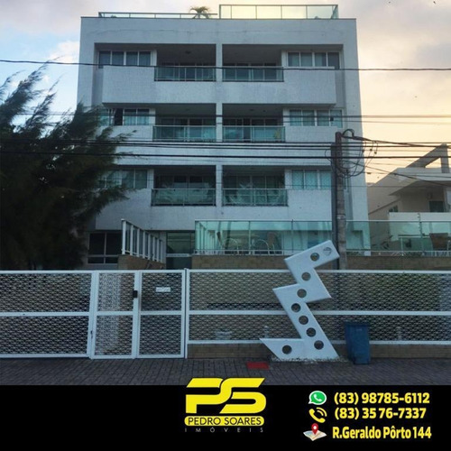 (oferta) Apt C/ 2 Qts Sendo 1 St, 65 M² Por R$ 470.000 - Cabo Branco - João Pessoa/pb - Ap1933