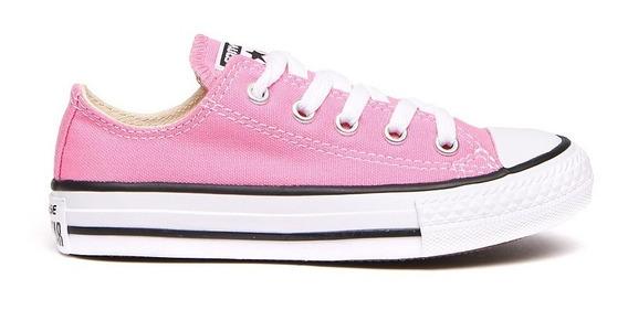 Tenis Converse Infantil Básico Rosa
