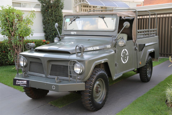 Ford Willys F85 Militar 1971