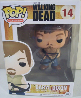 Muñeco Walking Dead Funko Pop Daryl #14 Original