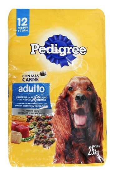 Pedigree Nutricion Completa Alim Perro Bulto 25 Kg