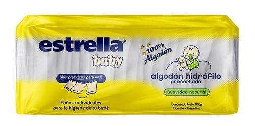 Algodon Pre Cortado Estrella Baby X 100gr