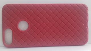 Capa Xiaomi Mi A1 Tela 5.5 Vermelha Com Textura