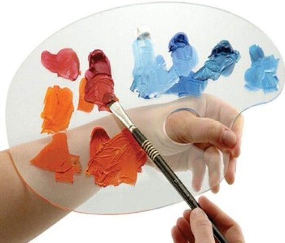 Paleta Para Pintura Acrilico 28x40 Sfa095