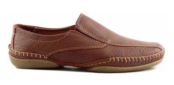 Mocasin Cuero Hombre Briganti Nautico Zapato Hcal00703