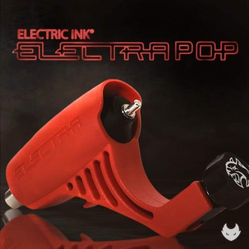 Imagen 1 de 4 de Máquina Tattoo Rotativa Electra Pop E Clip Rca