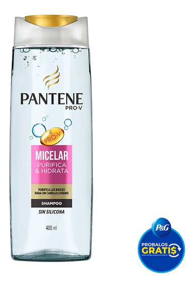 Shampoo Pantene Pro-v Micelar 400ml