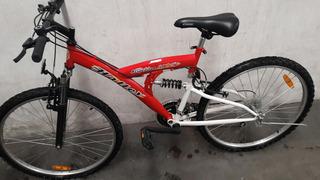 Biclicleta Usada Mountain Bike Suspencion Rod 26