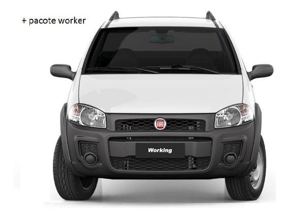 Fiat Strada Freedom 1.4 Cs Flex 19/20 Okm