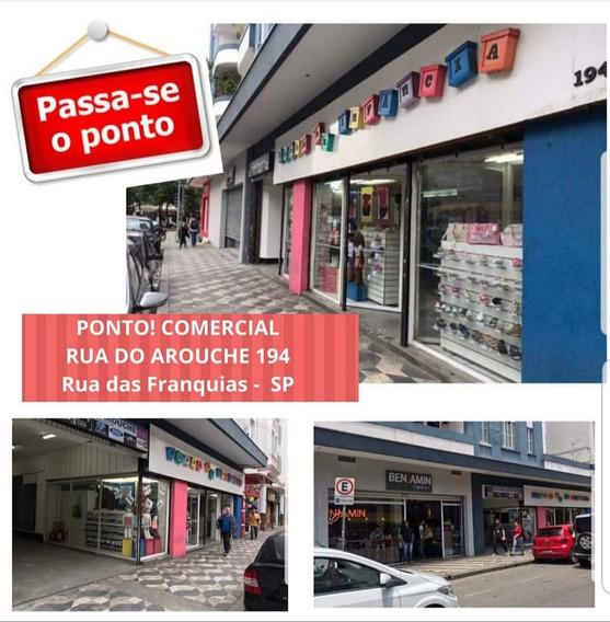 Ponto Comercial Arouche -loja Infantil Completa -passo Ponto
