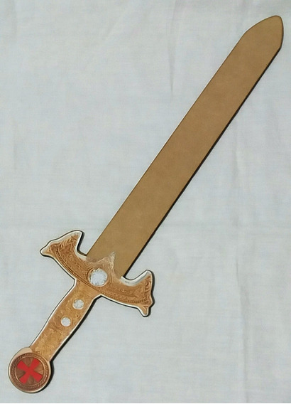 Espada Medieval, Blancanieves, Cazador, Pack X10 Unid. 40cms