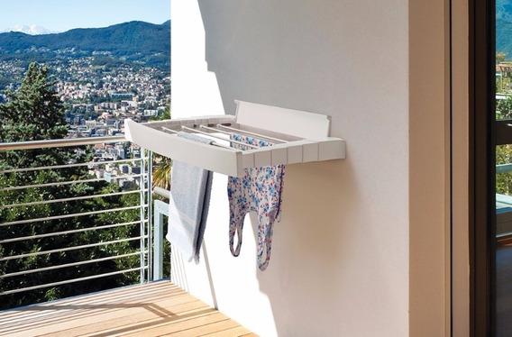 Varal Dobravel Sanfonado Parede Crippa Sacadas Apartamentos