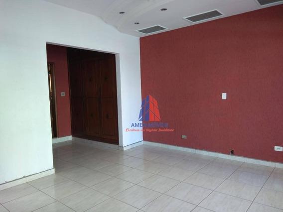 Sala Para Alugar, 175 M² Por R$ 2.500/mês - Centro - Americana/sp - Sa0030