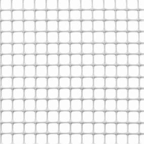 2ce66ee6c0c6 Malla Multiuso Para Jardin 1x5m Blanca Cuadro 10x10mm