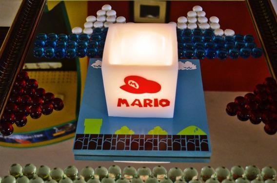12 Centros De Mesa De Mario Bros Aluzza