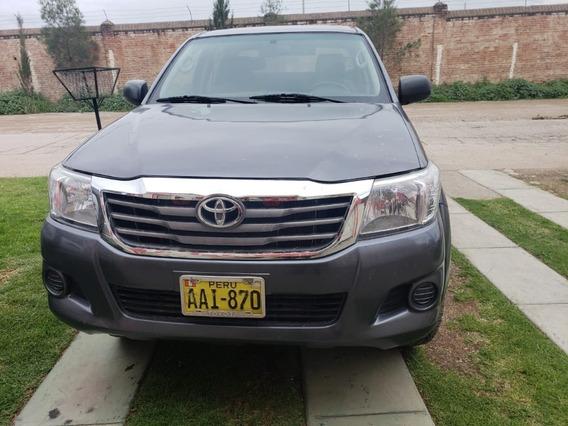 Camioneta Toyota Hilux 4x4 2014 / $ 18600