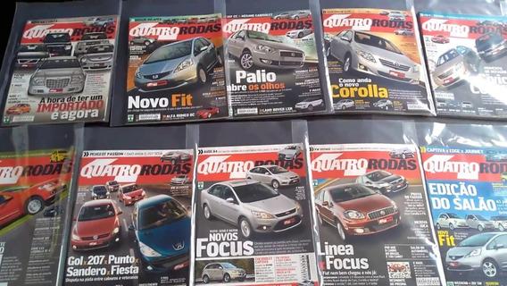 Revista Quatro Rodas - Automóveis - 4 Rodas 2008 - Valor Un
