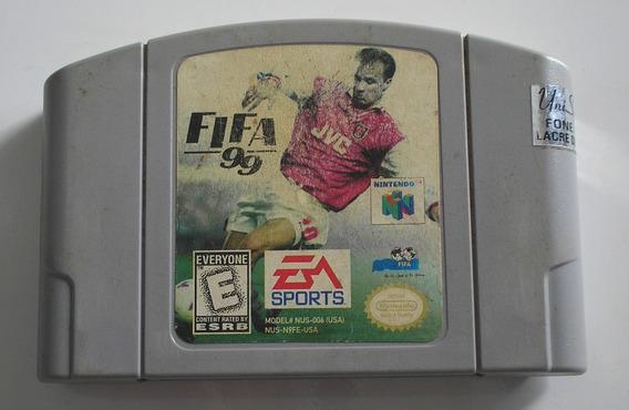 Fifa 99 Nintendo 64 Original Usada