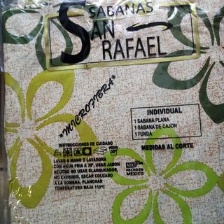 Oferta 2 X 1 Sabanas Ind San Rafael Algodon Telas Importadas