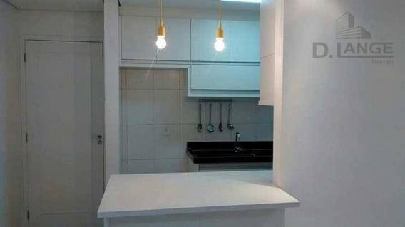 Apartamento Com 2 Dormitórios À Venda, 50 M² Por R$ 230.000 - Jardim Interlagos - Hortolândia/sp - Ap15645