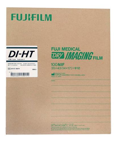 Imagen 1 de 1 de Pelicula Fuji 14x17 Diht Termica Placas De Rayos X Rx 100 H