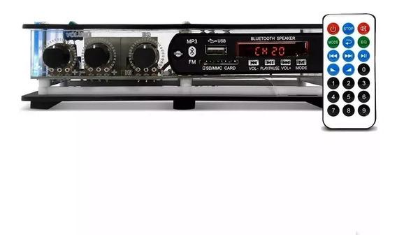 Receiver Xtr Slim 1002 Bt/rc 40w 2 Canais C/ Bluetooth