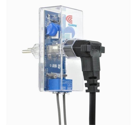 Clamper Tel Protetor Linha Telefônica Rj11 Dps Raios Surtos