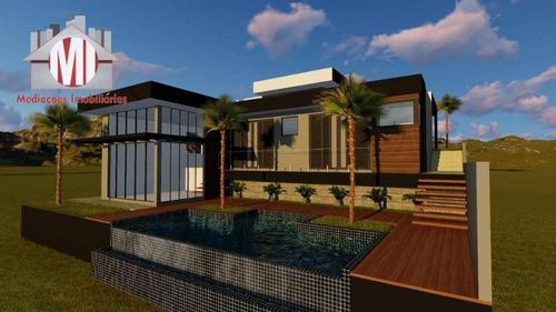 Belíssima Casa De Campo Em Fase De Construção, Com 2 Dormitórios, Piscina, Linda Vista, À Venda, 1000 M² Por R$ 450.000 - Zona Rural - Pinhalzinho/sp - Ch0846