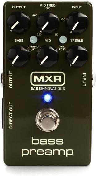 Pedal Mxr Para Baixo Bass Pre Amp M81 + Nf