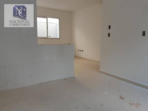 Sobrado Com 2 Dormitórios À Venda, 88 M² Por R$ 390.000,00 - Vila Curuçá - Santo André/sp - So2825