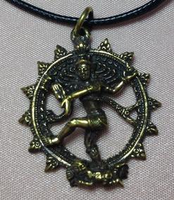 2 Cordão Shiva Nataraj,. Peça Exclusiva, Colar, Medalhão
