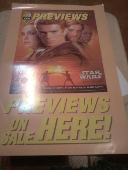 Previews N° 2 2002!! Poster Gijoe Y Star Wars Episodio 2!!