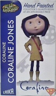 Figura Coraline Jones Head Knockers Neca Laika Unica!! 20cm