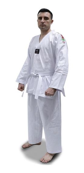 Dobok Taekwondo Adulto Start Algodao Kimono + Faixa Branca