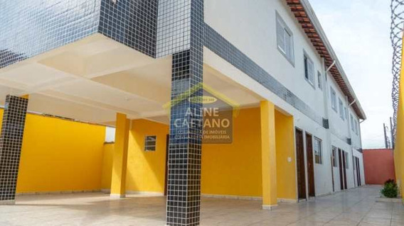 Casa De Condomínio Com 2 Dorms, Antártica, Praia Grande - R$ 190 Mil, Cod: Ac4021 - Vac4021